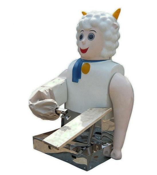 喜洋洋机器人刀削面机价格